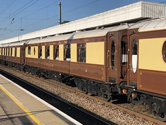 99539 ELY 110718 (DavidsTransportPix) Tags: 99539 ione metropolitancarriagewagoncompany locomotivehauledcoach locomotivehauledcarriage venicesimplonorientexpress vsoe