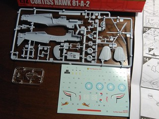 Curtiss Hawk 81-A-2 (P40B) - Airfix 1:72 Model