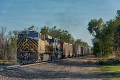 RR-20180710-BrushSub-143-e (skyviewtim) Tags: citi1344 coalload coloradorailroads coloradotrains hillrose colorado unitedstates us