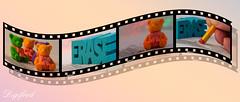 Alternative Eraser(s) for this week's MacroMondays challenge. (Digifred.nl) Tags: macromondays erasers digifred 2018 nederland netherlands pentaxk5 hmm macro macrophotography closeup alternative vlakgom eraser filmstrip dia