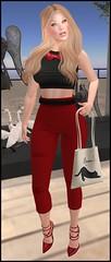 1058 (hair dollarbie) (elifarun) Tags: blogging secondlifefashion fashionblogger catwa maitreya slfashion sl shape secondlife dollarbie virtualfashion virtual mesh bento