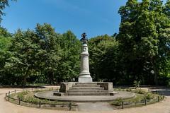 Denkmal für Friedrich II (Berlin-Knipser) Tags: volksparkfriedrichshain berlin deutschland germany friedrichshain friedrichii sonya6300 sel18135