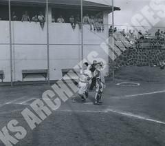 903- 5556 (Kamehameha Schools Archives) Tags: kamehameha archives ksg ksb ks oahu kapalama luryier pop diamond 1955 1956 de fries junior varsity jv iolani sports baseball