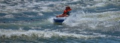 Ride (Scott 97006) Tags: water river wet tow recreation guy man play tube pulled speed