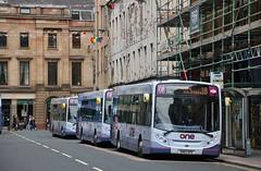 First Glasgow SN62 AFE (67725)   Route 1B   Glassford St, Glasgow (Strathclyder) Tags: first glasgow firstglasgow alexander dennis adl enviro 300 e300 sn62 afe sn62afe 67725 glassford street scotland olympialivery dumbarton theone