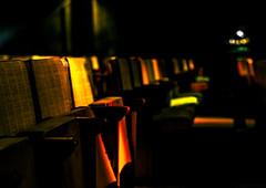 Salle de projection (jérémydavoine) Tags: unesco perret augusteperret lehavre eglise église church catholic catholique monument p patrimoine light lumière fauteuil sofa chair chaise saintjoseph
