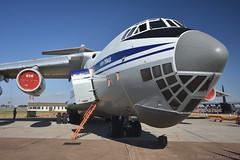 Ilyushin IL-76MD Candid (Bri_J) Tags: riat2018 royalinternationalairtattoo raffairford fairford gloucestershire uk riat airshow nikon d7200 aircraft ilyushin il76md candid jet transporter 25thtransportaviationbrigade ukrainianairforce