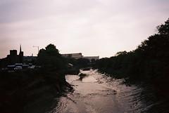 Gaol Ferry Bridge (knautia) Tags: gaolferrybridge riveravon bristol england uk july 2018 film ishootfilm kodak ektar 100iso olympus xa2 olympusxa2 nxa2roll41 river avon bridge footbridge