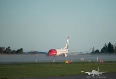 Norwegian - LN-DYB - B737-800 (Aviation & Maritime) Tags: lndyb norwegian norwegianairshuttle norshuttle boeing boeing737 b737 b737800 boeing737800 bgo enbr flesland bergenairportflesland bergenlufthavnflesland bergen norway