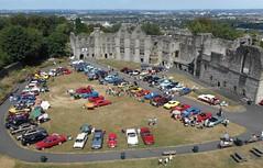 West Midlands Classic Car Club annual show 30 (Mount Fuji Man) Tags: westmidlandsclassiccarclub annualshow classiccar courtyard july2018 dudleycastle