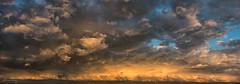 Abendhimmel am Ende der Hitzewelle (bibi-bibi) Tags: sturm unwetter hitzewelle abendhimmel