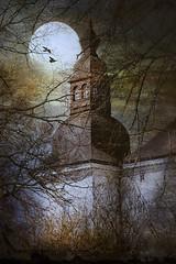 The Tower. (BirgittaSjostedt) Tags: castle tower architecture ekenäs sweden framed branches
