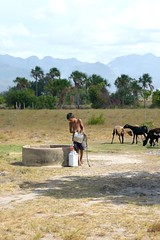 Rupununi #44 (*Amanda Richards) Tags: rupununi regionnine guyana 2018 well water fetchingwater wellwater boy