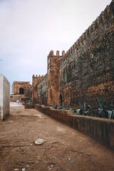 Rabat Morocco - Medina Wall (Modkuse) Tags: morocco rabat rabatmorocco medina rabatmedina contax contaxrangefinder contaxii zeiss zeisssonnar zeisscontaxrangefinder zeiss50mm kodak kodakslide kodachromeii slide slidefilm transparency
