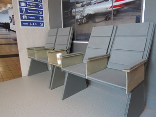 4 of 5 Airport seating