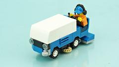 Ice resurfacer vehicle (de-marco) Tags: lego town city ice vehicle zamboni