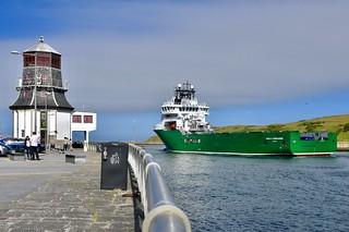 Havila Commander - Aberdeen Harbour Scotland 30/6/2018
