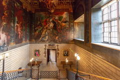 The Hell Staircase (Carol Spurway) Tags: peterborough cambridgeshire stamford lincolnshire stmartinswithout barnack 16thcentury elizabethan burghleyhouse treasurehousesofengland hha historichouses historichousesassociation interior house