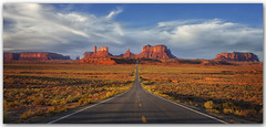 "America the Beautiful! Happy 4th of July! (Joalhi ""Around the World"") Tags: mile13 utah monumentvalley"