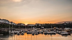 Tenby Sunset 2018 07 03 #15 (Gareth Lovering Photography 5,000,061) Tags: tenby wales seaside harbour beach boats sunset holiday olympus penf 17mm garethloveringphotography