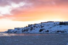 Atardecer en Borgarnes (carlosbermejobarbanoj) Tags: 50mmf18 sky memories nikon landscape fiordo mar sea nikond3300 borgarnes sunshine atardecer iceland islandia