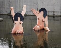 La baignade (josboyer) Tags: parc des naçôes nations parque das baignade femmes lisboa park