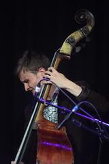 Steve Williamson Trio (2018) 03 - Hamish Nockles-Moore (KM's Live Music shots) Tags: jazz greatbritain hamishnocklesmoore stevewilliamson doublebass ligetiinwonderland fridaytonic southbankcentre