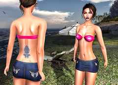 LuceMia - On9 Event (2018 SAFAS AWARD WINNER - Favorite Blogger - MISS ) Tags: on9event suki tattoo mesange padma sammy exclusive event pink all sl secondlife mesh fashion creations blog beauty hud colors models lucemia