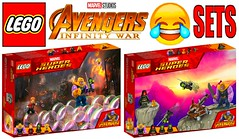Funny Lego Avengers Infinity War Sets !!! Part 2 (afro_man_news) Tags: lego funny sets fake custom all moc polybag marvel avengers infinity war superheroes thanos spiderman captain america iron man thor black panther hawkeye hulk doctor strange gamora loki scarlet witch starlord groot widow antman vision characters minifigures