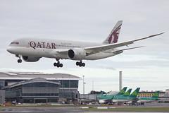 A7-BCC | Qatar Airways | Boeing B787-8 Dreamliner | CN 38321 | Built 2012 | DUB/EIDW 05/02/2018 (Mick Planespotter) Tags: aircraft airport b787 2018 a7bcc qatar airways boeing b7878 dreamliner 38321 2012 dub eidw 05022018 dublinairport collinstown nik sharpenerpro3 flight