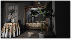 .Aloha Bedroom (Abi Latzo) Tags: zencreations homeandgarden home bed bedroom mesh secondlife sl shopping decor furniture inside indoor interiordesign