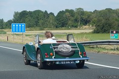1978 Morgan 4/4 1600 (NielsdeWit) Tags: nielsdewit car 03xk21 morgan 44 fourfour 1600 driving highway a12