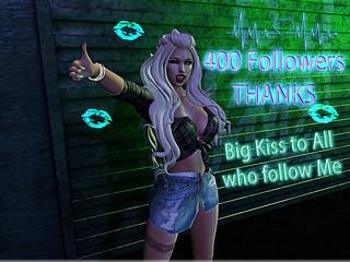💋 400 Followers 💋