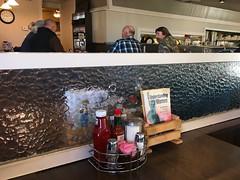 Understanding Women (Tyler Merbler Photo) Tags: diner usa statueofliberty whatwomenwant battleofthesexes ketchup tabasco salt pepper sugar clock food mystery men women