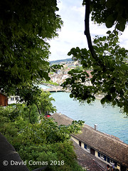 Zurich - Mirador de Lindenhof (CATDvd) Tags: appleiphone8 june2018 catdvd davidcomas httpwwwdavidcomasnet httpwwwflickrcomphotoscatdvd suïssa suiza switzerland schweiz suisse svizzera zuric zürich zúrich zurich lindenhof lindenhofhill zürcherhügelzug rio riu river