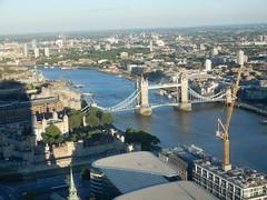 View of Tower Bridge, Tower of London etc. from the Sky Garden (John Steedman) Tags: walkietalkie skygarden london uk unitedkingdom england イングランド 英格兰 greatbritain grandebretagne grossbritannien 大不列顛島 グレートブリテン島 英國 イギリス ロンドン 伦敦 towerbridge toweroflondon