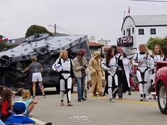 Yay Star Wars! (morroelsie) Tags: cayucos4thofjulyparade cayucos 4thofjuly centralcoast morroelsie