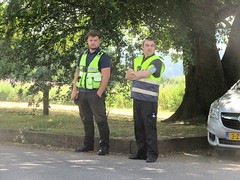 Here's looking at you ? (John(cardwellpix)) Tags: tuesday 10th july 2018 district enforcement parking attendants newlands corner guildford surrey uk 4261