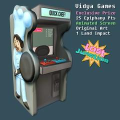 [LJ] Vidya Games Exclusive (Tala Laval) Tags: gacha key second life arcade cabinet