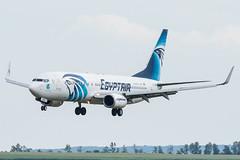 B738_MS797 (CAI-VIE)_SU-GEA_1 (VIE-Spotter) Tags: vienna vie airport airplane flugzeug flughafen planespotting wien