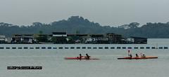 Lines (melvhsc100) Tags: event outdoor activity beach bluesky kelong kayak seascape tree island overcast fun people singaporenicescenery pasirrisbeach nikon7200 tamron150600mm