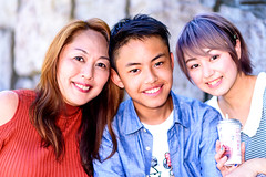 Mom and Children at The Park : 家族で公園 (Dakiny) Tags: 2018 summer july japan kanagawa sagamiono park sagamionocentralpark outdoor city street friend family people portrait woman boy girl bokeh nikon d750 85mm f18 nikonafsnikkor85mmf18g afsnikkor85mmf18g