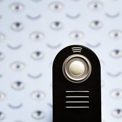 Remote Possibilities (HW111) Tags: mll3 macromondays nikon photographygear eyes remotecontroller hmm