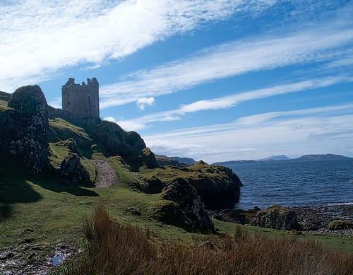Kerrera walk - Gylen Castle
