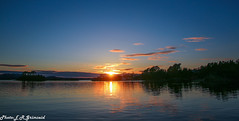 Sunset , Raunefjorden (2000stargazer) Tags: raunefjorden bergen espelandkai norway sunset reflection fjord waterscape fjordnorway visitnorway visitbergen darkk seascape landscape canon nature