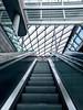 Escalating (bobbex) Tags: diagonal modern metal glass urban liverpoolone liverpool merseyside
