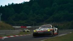 24h (ElementoMagico) Tags: porsche 911 gt3 mercedes amg gt nurburgring 24h gran turismo sport ps4 endurance