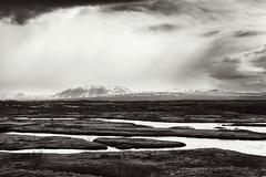 Þingvellir (4) (pni) Tags: monochrome landscape view sky cloud mountain hill fell water þingvellir is18 iceland ísland pekkanikrus skrubu pni