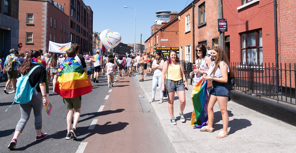 ABOUT SIXTY THOUSAND TOOK PART IN THE DUBLIN LGBTI+ PARADE TODAY[ SATURDAY 30 JUNE 2018] X-100180