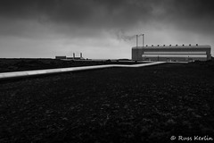 Geothermal #2 (Russ Kerlin Photography) Tags: iceland geothermal pipes monchrome bw minimalistic steam
